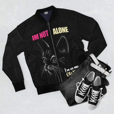 Art Your Cat I'm Not Alone Cat Jacket