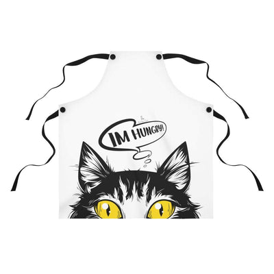 Art Your Cat Im hungry! Cat Apron