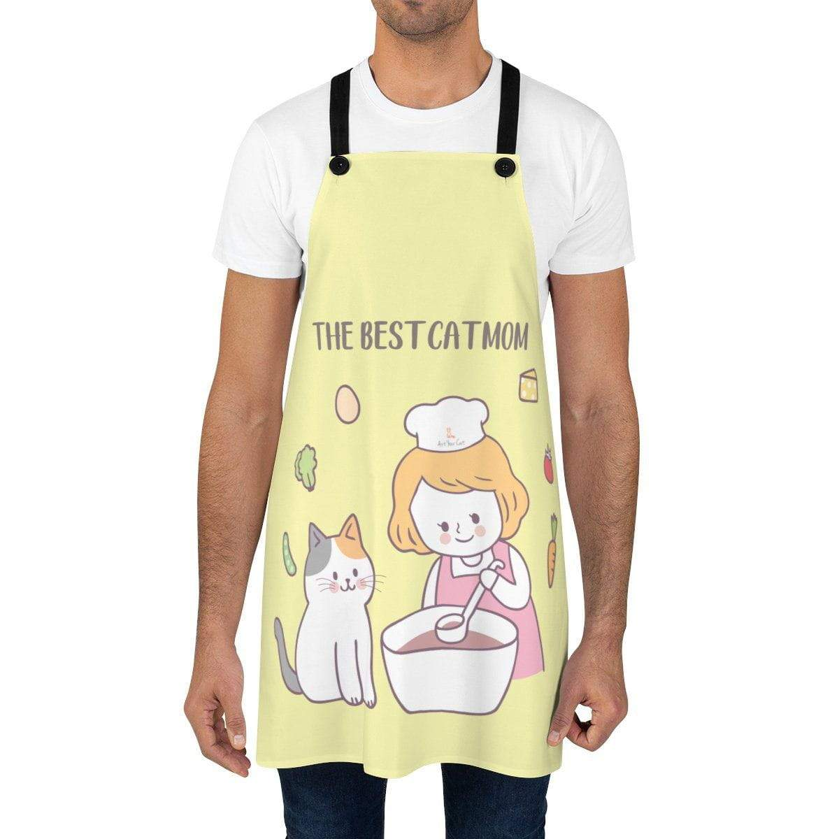 Art Your Cat Kitty and I Cooking Apron