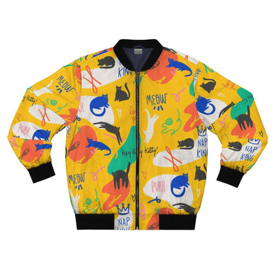 Art Your Cat Kitty Artwork Patterns Jacket