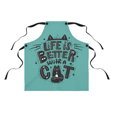 Art Your Cat Life is better with a Cat Apron