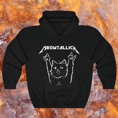Art Your Cat Meowtallica - Unisex T-Shirt
