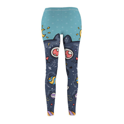 Art Your Cat Moon cat Leggings