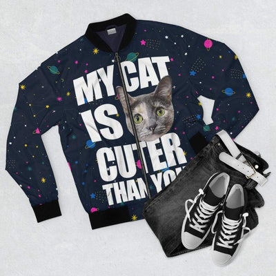 Art Your Cat My Cat is Cuter Than You Jacket