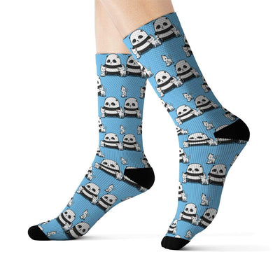 Art Your Cat Panda's kitties socks