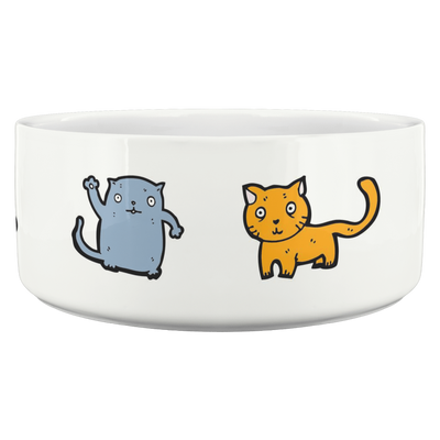 Art Your Cat Pet Bowl