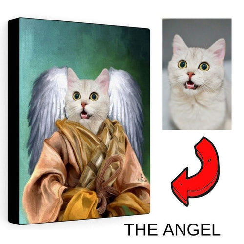 The Angel- Custom (Your Pet) Portrait