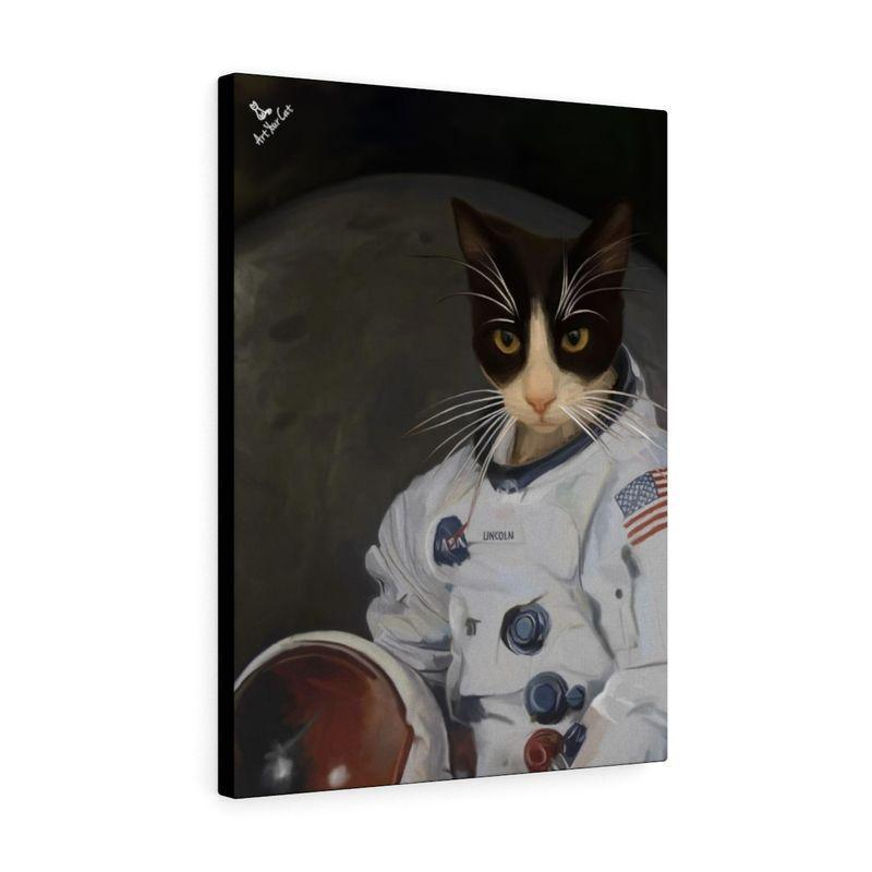 Art Your Cat THE ASTRONAUT - CUSTOM (YOUR PET) PORTRAIT