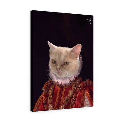 Art Your Cat The Baroness - Custom (Your Pet) Royal Portrait