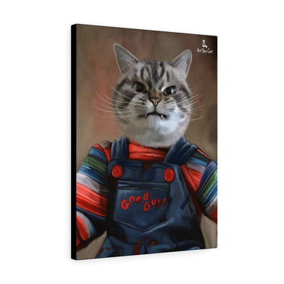 Art Your Cat The chuckie - Custom (Your Pet) Halloween Portrait