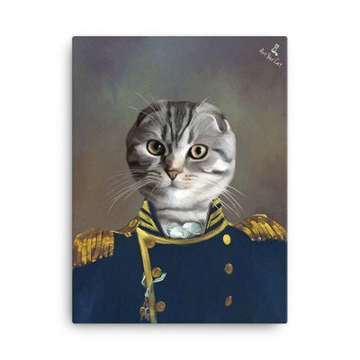 Art Your Cat The Colonel - Custom (Your Pet) Royal Portrait