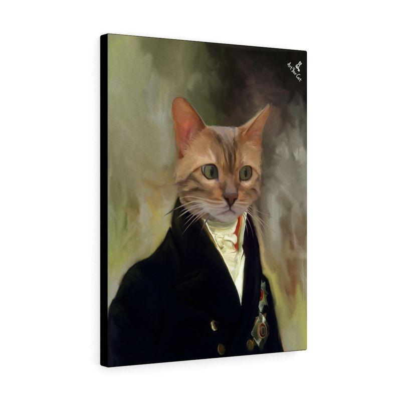 Art Your Cat THE COUNT - CUSTOM (YOUR PET) PORTRAIT