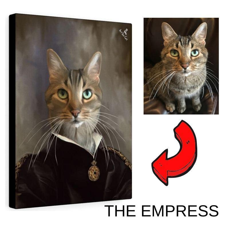 Art Your Cat The Empress - Custom (Your Pet) Royal Portrait