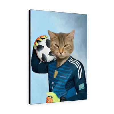 Art Your Cat THE FOOTBALL PLAYER - CUSTOM (YOUR PET) PORTRAIT