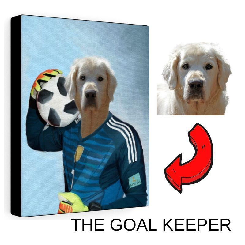 Art Your Cat The Goal Keeper - Custom (Your Pet) Portrait