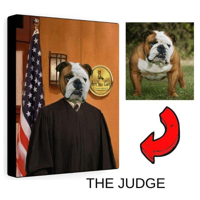 Art Your Cat The Judge - Custom (Your Pet) Portrait