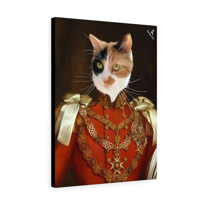 Art Your Cat The King - Custom (Your Pet) Royal Portrait
