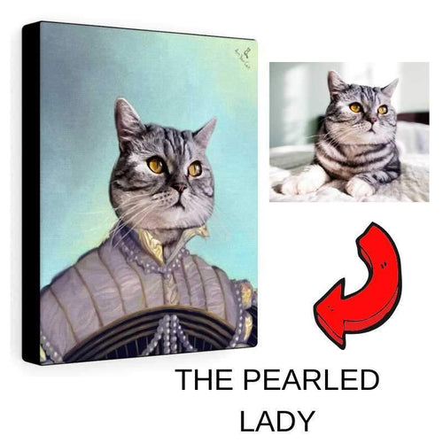 The Pearled Lady - Custom (Your Pet) Portrait
