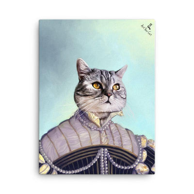 Art Your Cat The Pearled Lady - Custom (Your Pet) Portrait