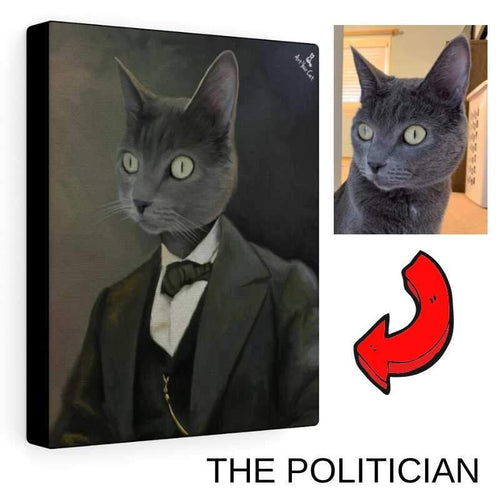 The Politician - Custom (Your Pet) Portrait