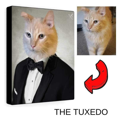 Art Your Cat THE TUXEDO - CUSTOM (YOUR PET) PORTRAIT