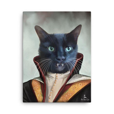 Art Your Cat The Vampire Cat - Custom (Your Pet) Portrait
