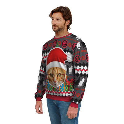 Art Your Cat Ugly Sweater - Beautiful Cat