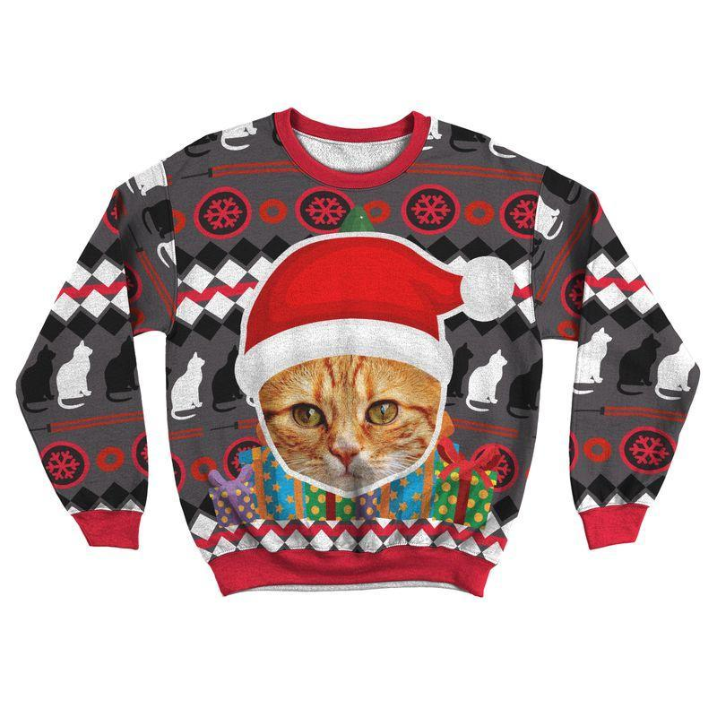 Art Your Cat Ugly Sweater - Your Beautiful Cat