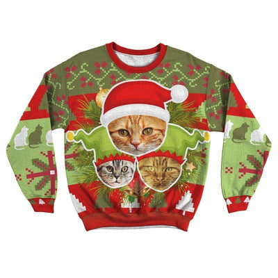 Art Your Cat Ugly Sweater - Your Beautiful Cat #2