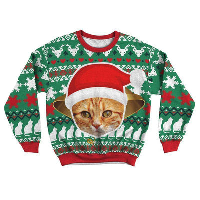 Art Your Cat Ugly Sweater - Your Beautiful Cat #3
