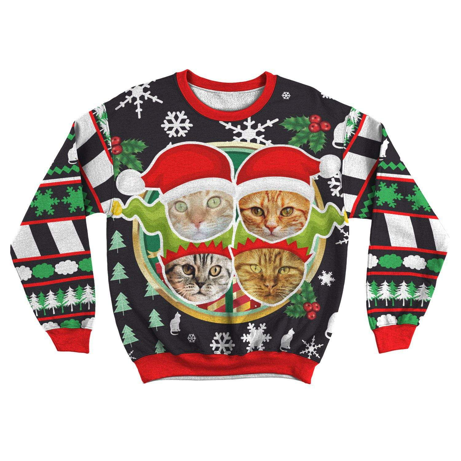 Art Your Cat Ugly Sweater - Your Beautiful Cat #4