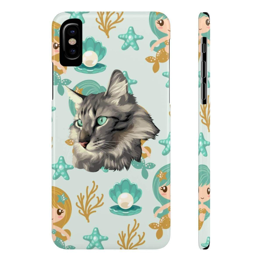 YOUR CAT - Case Mate Slim Phone Cases