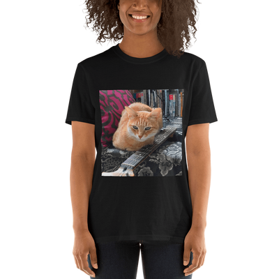 Art Your Cat YOUR CAT PHOTO - Short-Sleeve Unisex T-Shirt