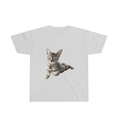Art Your Cat Your Cat - Short Sleeve Youth T-Shirt