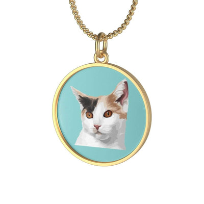 Art Your Cat YOUR CAT - Single Loop Necklace
