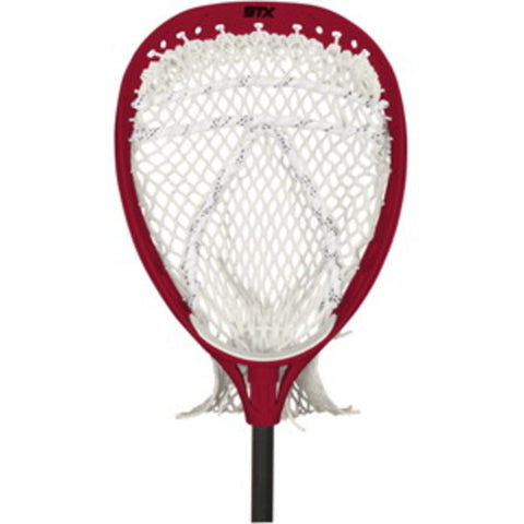 STX Mini Eclipse Lacrosse Goalie Fiddle Stick (RED)