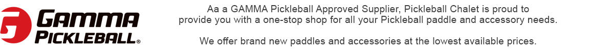GAMMA Pickleball Paddles | PickleballChalet.com
