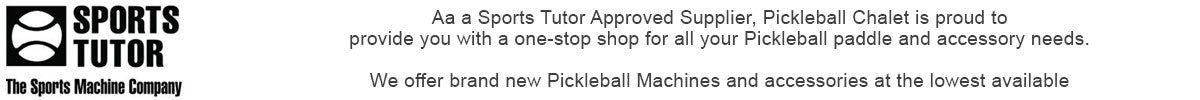 Sports Tutor Pickleball Ball Machine | PickleballChalet.com