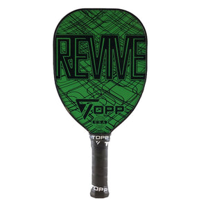TOPP Revive Teardrop Composite Pickleball Paddle Green | PickleballChalet.com