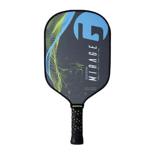 GAMMA Mirage Premium Poly Core Pickleball Paddle Blue Yellow | PickleballChalet.com