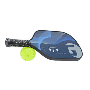 GAMMA RZR Premium Poly Core Pickleball Paddle Blue Grey | PickleballChalet.com