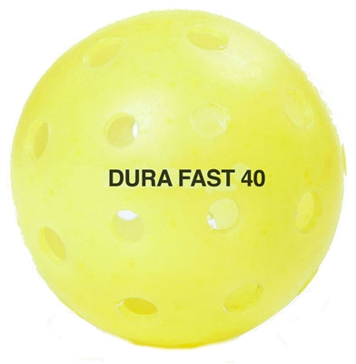 Dura Fast Outdoor Pickleballs