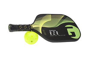 GAMMA RZR Premium Poly Core Pickleball Paddle Green Yellow | PickleballChalet.com