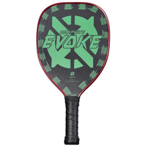 ONIX Evoke Tear Drop Graphite Pickleball Paddle White | PickleballChalet.com