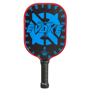 Onix Evoke XL Graphite Pickleball Paddle Blue | PickleballChalet.com