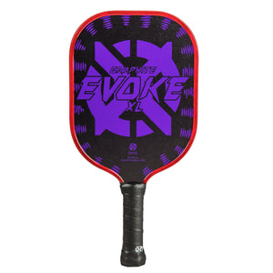 Onix Evoke XL Graphite Pickleball Paddle Purple | PickleballChalet.com