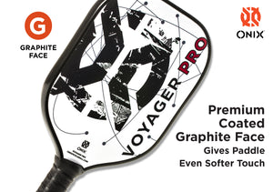 ONIX Voyager Pro Graphite Pickleball Paddle | PickleballChalet.com