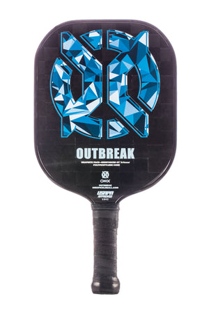 ONIX Outbreak Graphite Pickleball Paddle Blue | PickleballChalet.com