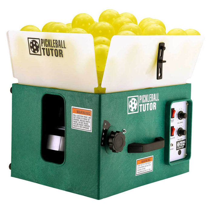 Pickleball Tutor Ball Machine (No Oscillation)