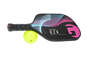 GAMMA RZR Premium Poly Core Pickleball Paddle Pink Blue | PickleballChalet.com